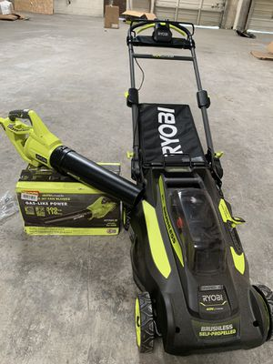 Sell propelled mower and blower for Sale in Atlanta, GA