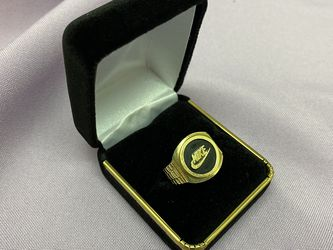 Nike Mens Ring In Solid 14K Yellow Gold! Custom Made! Retail over $1000! for Sale in Los Angeles,  CA