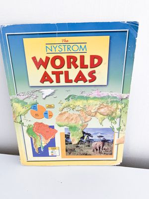 World atlas geography book for Sale in Red Bluff, CA
