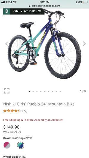 "Nishiki 24"" girls bike $65 obo for Sale in Euless, TX"