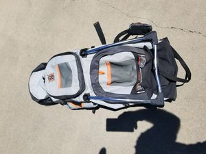 Snugli baby carrier backpack hiking trail cross country walking evenflo for Sale in Atwater, CA
