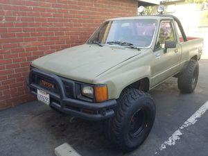 86 Toyota pickup 4x4 v8 for Sale in Tustin, CA