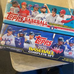 2 Factory sealed sets baseball 2019 And  2020  for Sale in Gilroy, CA