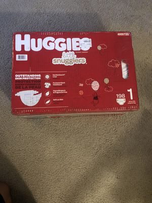 Huggies Pampers Size 1, 198 count for Sale in Mount Laurel Township, NJ
