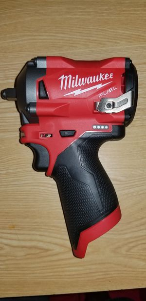 """Milwaukee Fuel M12 3/8"""" Stubby Impact Wrench NEW for Sale in Coral Springs, FL"""