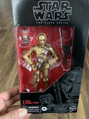 STAR WARS BLACK SERIES C-3PO & BABU KRIK TARGET EXCLUSIVE! for Sale in Los Angeles, CA