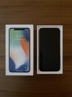 iPhone X 256gb Silver - ATT for Sale in Seattle, WA