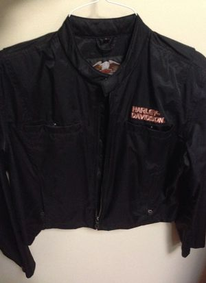 Harley Davidson womens motorcycle jacket! for Sale in Attleboro, MA