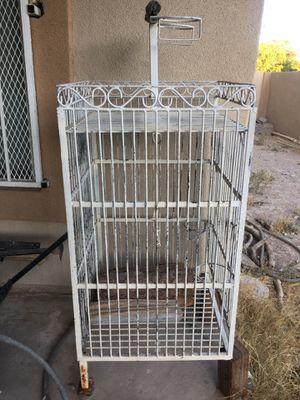 Metal bird cage for Sale in Las Vegas, NV