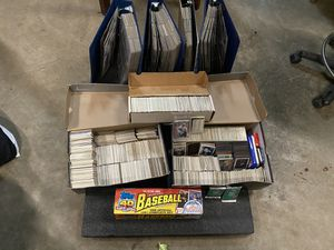 Baseball card collection for Sale in Enumclaw, WA