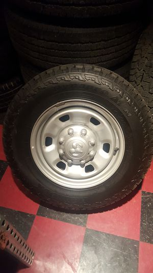 "17"" DODGE RAM 2500 LARAMIE CUMMINS OEM FACTORY STOCK WHEELS RIMS for Sale in Groveport, OH"