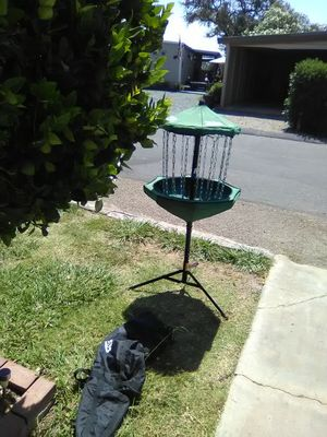 Disc golf basket for Sale in San Francisco, CA