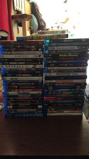 Blurays/DVDs $3 Each for Sale in San Diego, CA