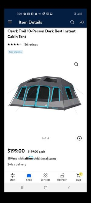 Tent ⛺ fits 10 people . New for Sale in Delano, CA