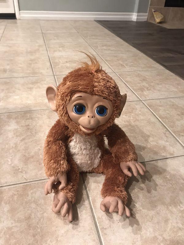 Furreal friend monkey 🐒