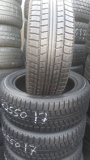 4 used tire nito 225/50/17 for Sale in Washington, DC