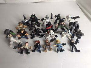 Vintage action figures HASBRO LFL Figures lot of 20 different year for Sale in Pittsburg, CA