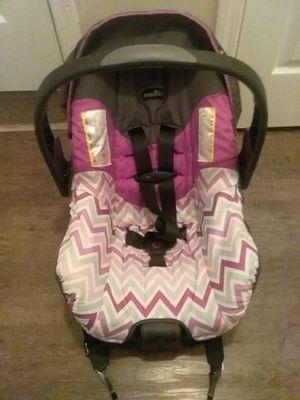 Evenflo Infant Car Seat with Base for Sale in Stockbridge, GA