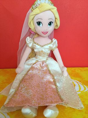 Disney Princess Bride Rapunzel Plush Doll for Sale in Tampa, FL