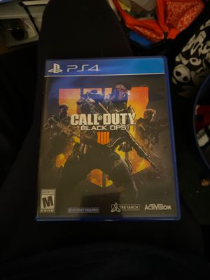 Call of Duty Black Ops 4 PS4 for Sale in San Diego, CA