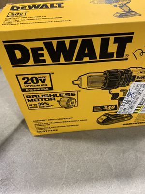 Dewalt 20v lithium ion 20v impact drill for Sale in Albany, NY