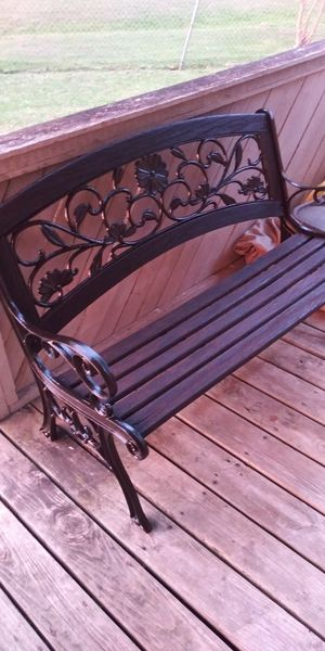 Patio bench for Sale in Dallas, TX
