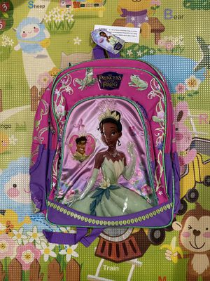 Princess and the Frog - Full size backpack *NEW w/tags* for Sale in Diamond Bar, CA