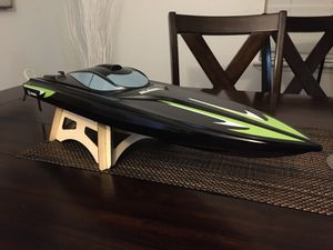Rc boat Black Marlin for Sale in DeSoto, TX
