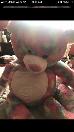 8ft Tall Bear Tie Die for Sale in Des Moines, WA
