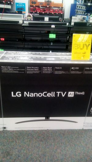 "2019 LG Nanocell SM9000 65"" 4K smart TV for Sale in Nashville, TN"