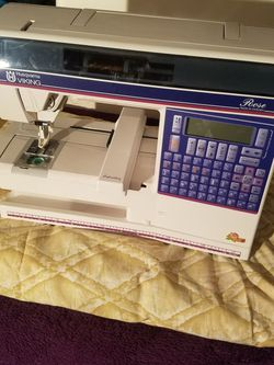 Husqvarna Viking Embroidery And Sewing Machine for Sale in Houston,  TX