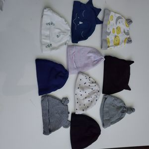 Baby boy Newborn outfit clothes beanie hats Lot# 38 for Sale in Pico Rivera, CA