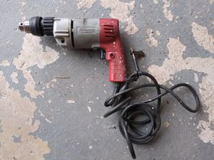 """Milwaukee 5392-1 3/8"""" Heavy Duty Corded 120V Hammer Drill With Chuck Key for Sale in Naugatuck, CT"""