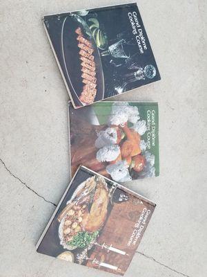 3 CORDON BLEU COOK BOOKS for Sale in Inglewood, CA