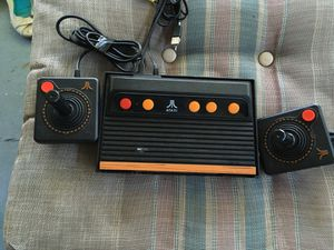 Atari game system with games built in for Sale in Dade City, FL