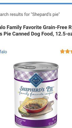 New blue Buffalo Wet Can Dog Food for Sale in Warren,  MI
