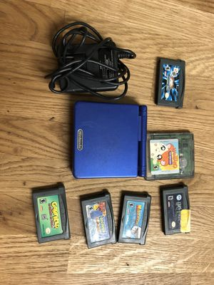 Gameboy Advance SP with Games for Sale in Pasadena, CA