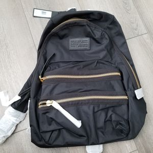 Marc Jacobs Nylon Backpack - Black w/ Gold Zippers for Sale in Las Vegas, NV