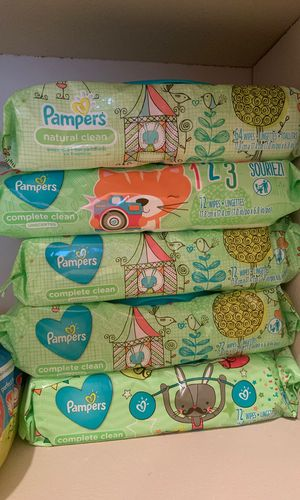 (5) Pampers Wipes for Sale in Jacksonville, FL