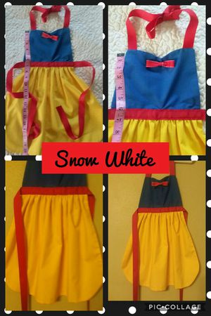 Disney Princess Snow White Dress Up Apron New Handmade 3 Sizes Available for Sale in St. Louis, MO