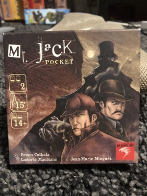 Mr jack pocket board game missing pieces for Sale in San Francisco, CA