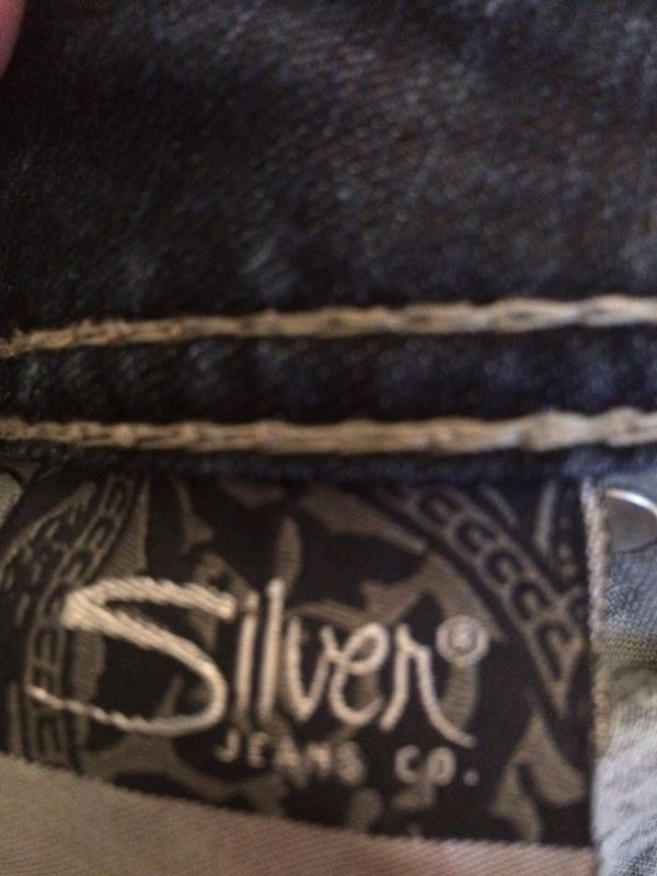 Silver Suki Capri jeans