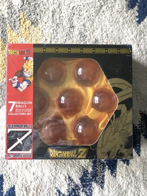 Dragonball Z Collector set Crystal dragon balls for Sale in Seattle, WA