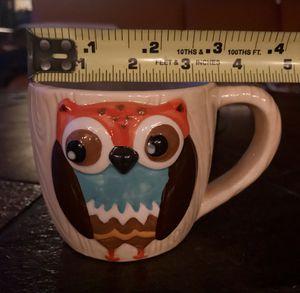 (4) Woodland Owl Mugs for Sale in Draper, UT
