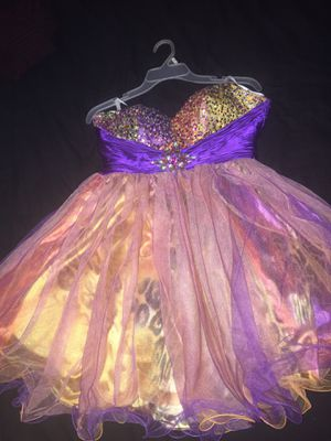 Prom dress worn once size 14 for Sale in Morrisville, PA