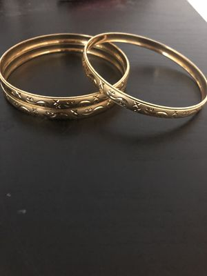 Real Gold Plated Bracelets for Sale in Statesboro, GA