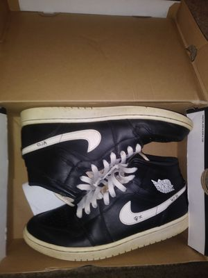 Black and White Air Jordan 1 Mid for Sale in Cayce, SC