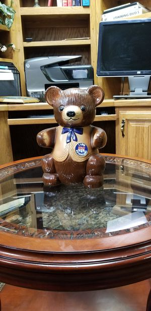 BEAR COOKIE JAR for Sale in Fort Smith, AR