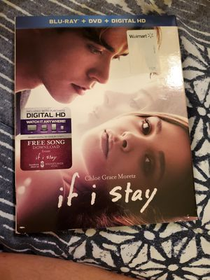 If I Stay Blu Ray for Sale in Lakeland, FL