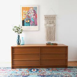1970's Mid Century Modern Danish Teak Dresser for Sale in Gaithersburg,  MD